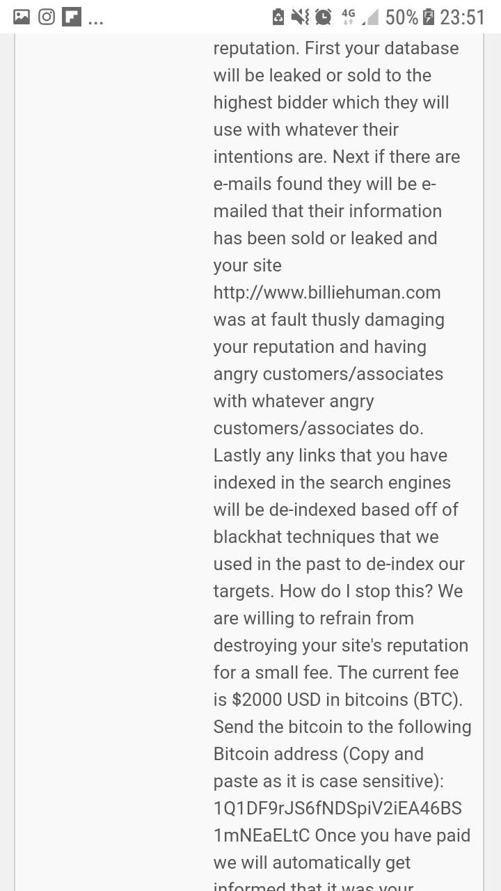 Bully Blackmailer